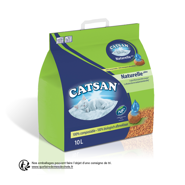 Catsan Naturelle Plus